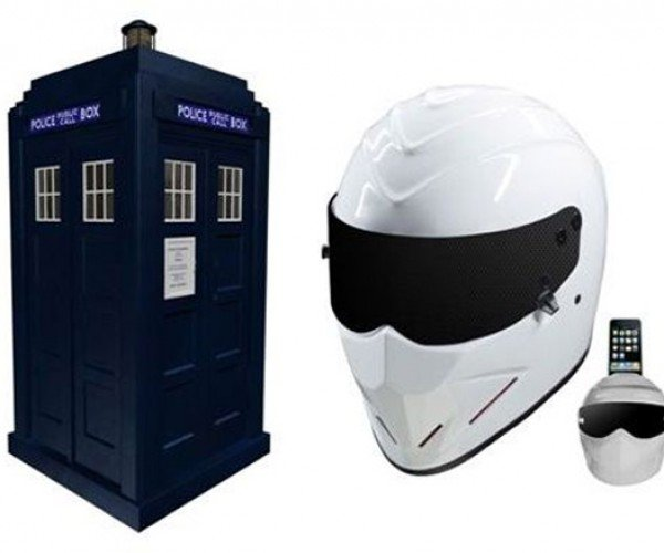 Speakal Outs TARDIS and Top Gear Speakers