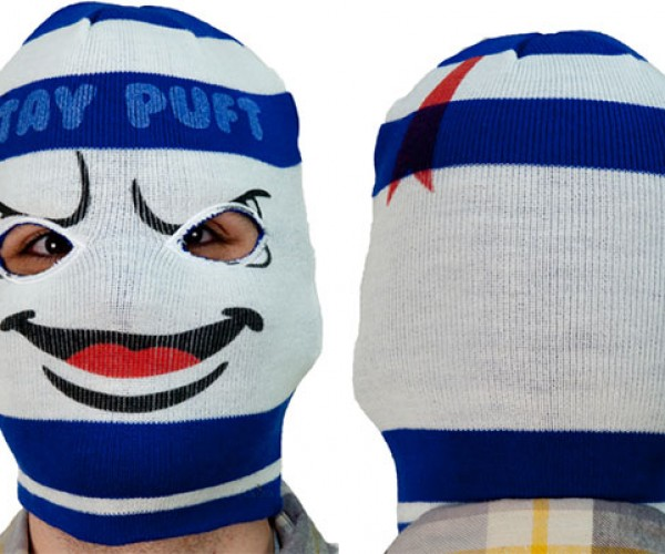 Stay Warm with the Stay Puft Ski Mask
