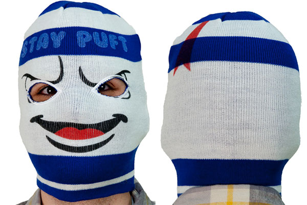 stay puft marshmallow man ski mask
