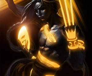 street fighter tron art by bosslogic 3 300x250