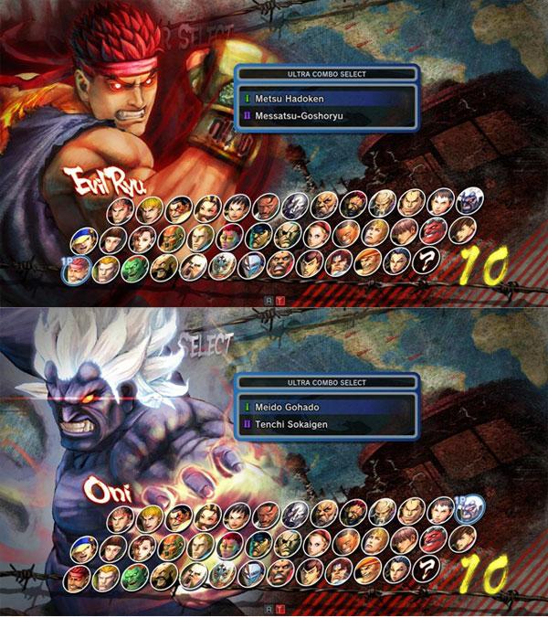 super street fighter 4 arcade edition evil ryu oni akuma