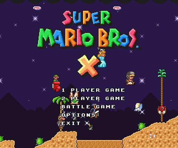 Super Mario Bros. X: Mario Fangasm