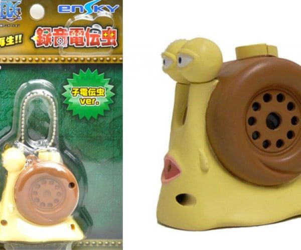 One Piece Transponder Snail Voice Recorder: Weirdest Gadget of the Week