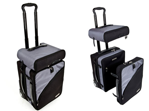 Balanzza Truco Carry-on Bag is the Geeks Travel Companion - Technabob