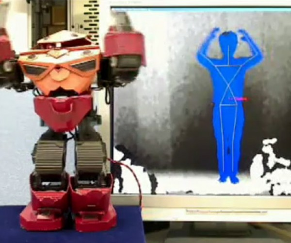 Kinect Controls Humanoid Robot: Giant Robotic Army Not Far Away