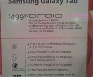 Verizon Slashes Galaxy Tab Price (and Gives Out Refunds)