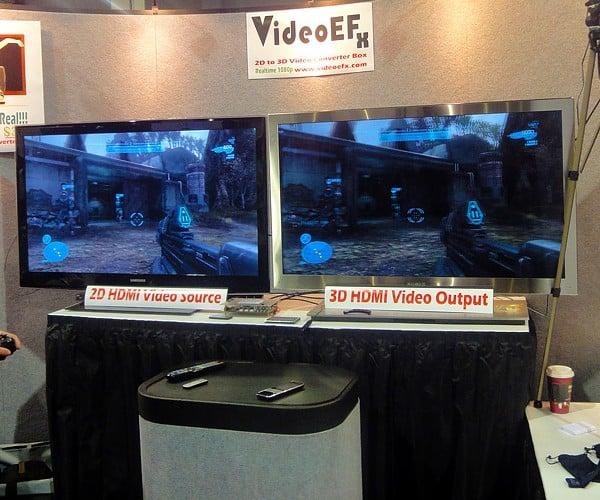 VideoEFX Converts 2D Video to 3D