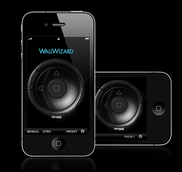 wallwizard controlwand ios app