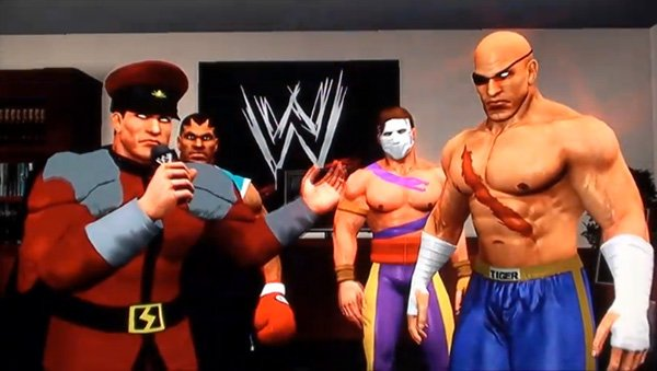 wwe smackdown vs raw street fighter skins