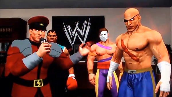 wwe smackdown vs raw street fighter wrestlers