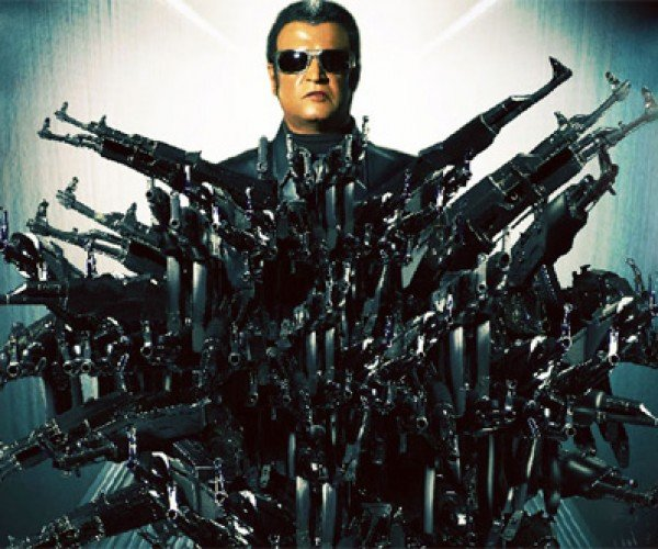 Insane Action Scenes from India's Most Expensive Movie: Endhiran