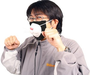 Thanko USB Kitty Mask Helps You Breathe While Looking Stupid