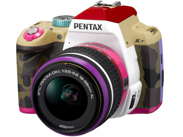 pentax japan bonnie pink limited edition dslr