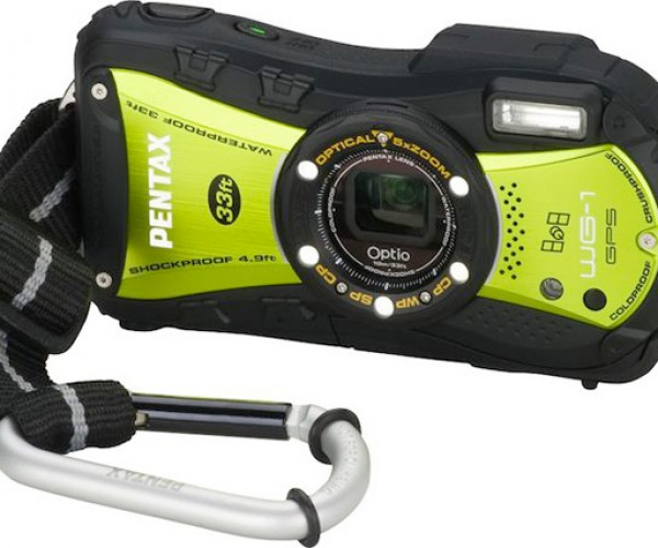 Pentax WG-1 Optio Cameras Look Rugged Enough to Drop Off a Cliff, But Don't