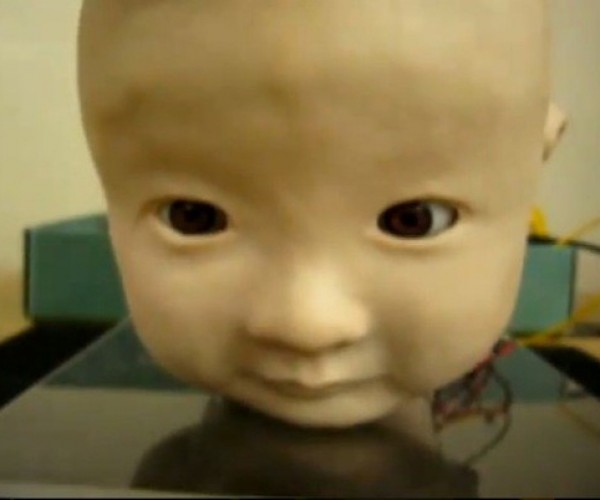 AFFETTO Robot Head Will Creep You Out