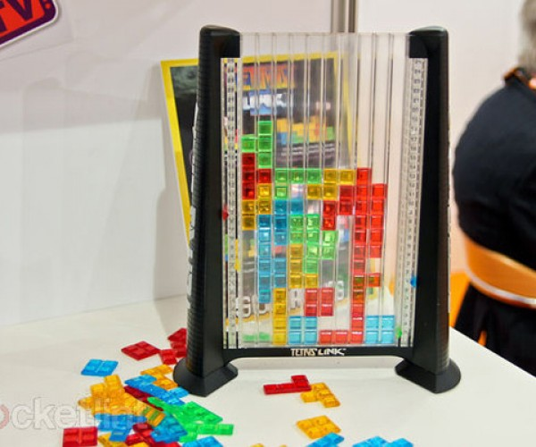 Tetris Link Board Game More Like Connect 4 Than Actual Tetris