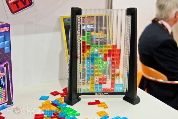 tetris video game board link john adams retro