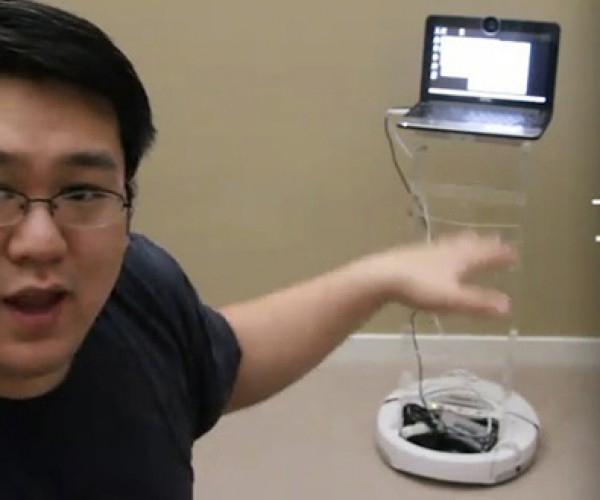 The 500-Dollar iRobot Telepresence Hack