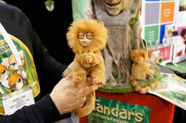tandar robot monkey interactive toy