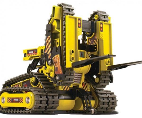 OWI Robotics All Terrain Robot Looks Like Wall-E's Dumb Kid Brother
