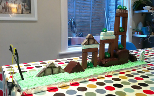cake pastry playable video games angry birds mike cooper