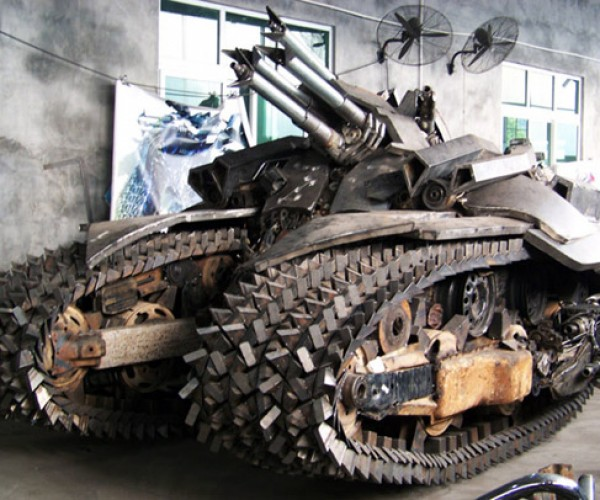 Transformers Scrap Metal Megatron Tank: Ready to Take Over the World