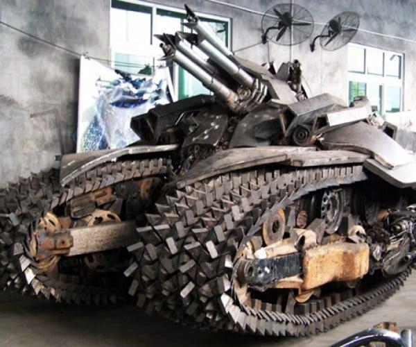 Transformers Scrap Metal Megatron Tank: Ready to Take Over the World