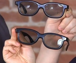 Turn 3D Glasses Into 2D Glasses: How Sad is It That We Have to Do This?