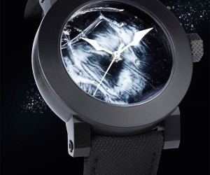 Awesome Yvan Arpa Watch is Water Filled, But Water Resistant