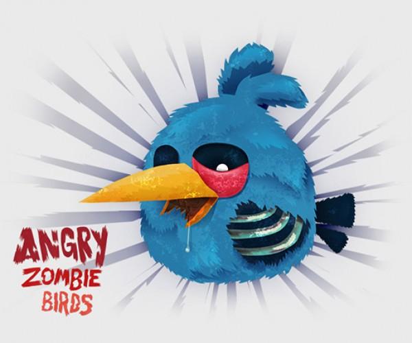 angry zombie birds by tomasz kaczkowski 3
