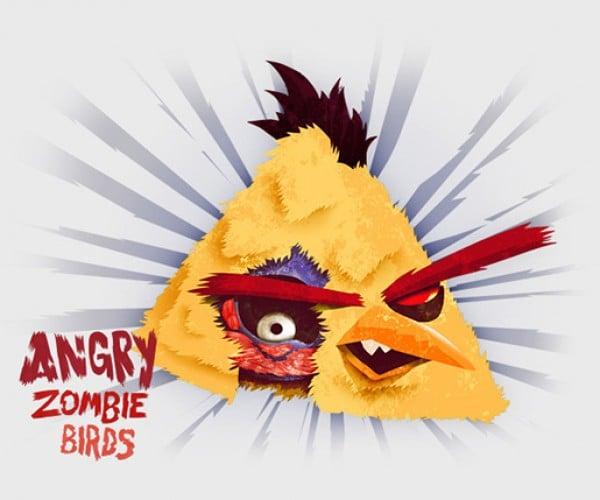 angry zombie birds by tomasz kaczkowski 4