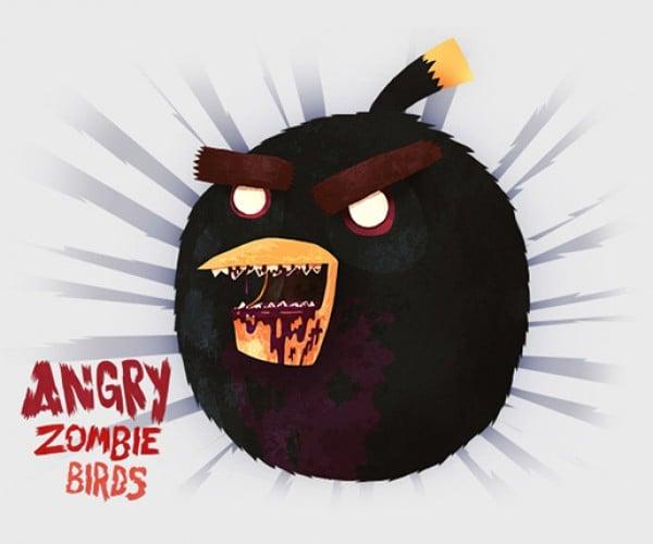 angry zombie birds by tomasz kaczkowski 5