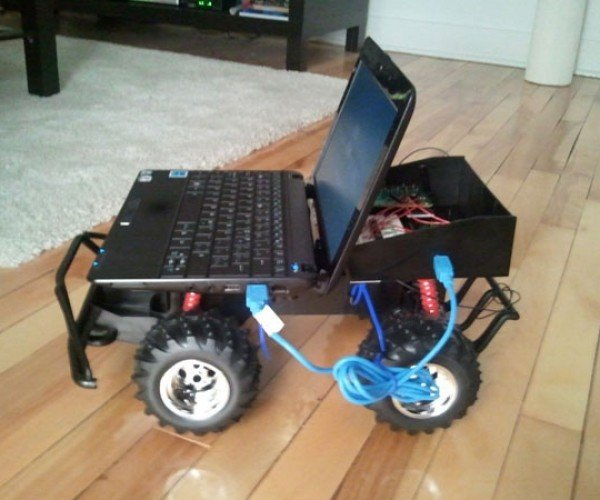 Cheap RC Car Modded With Arduino and PC for Telepresence and More