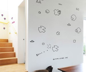 Asteroids Blik Vinyl Wall Decals Turn Your Space into a Hyper-Space