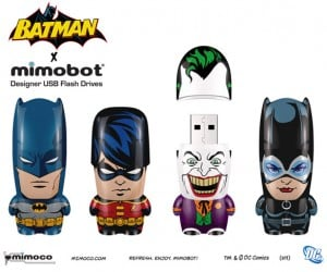 Batman x MIMOBOT: Crimefighting Gets a Big Head