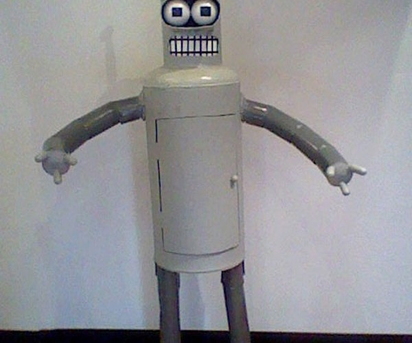 Life-Size Bender Will Let You Bite His Shiny Metal Ass for $3000