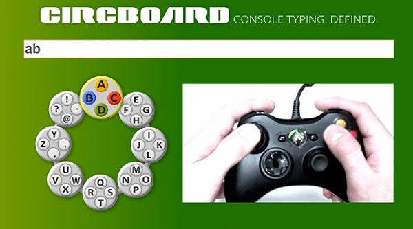 circboard console typing software