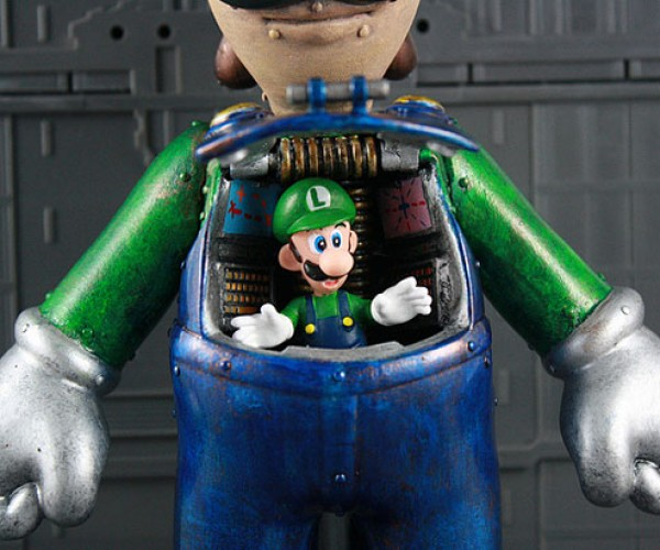 custom luigi mech by kodykoala 2