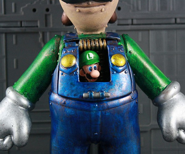 custom luigi mech by kodykoala 3