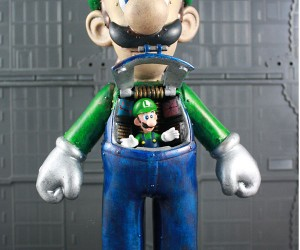 custom luigi mech by kodykoala