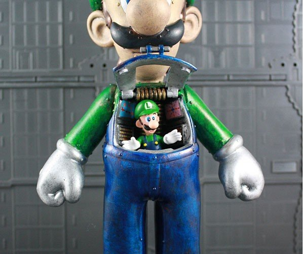 Luigi Mech: Who's the Big Brother Now Mario?