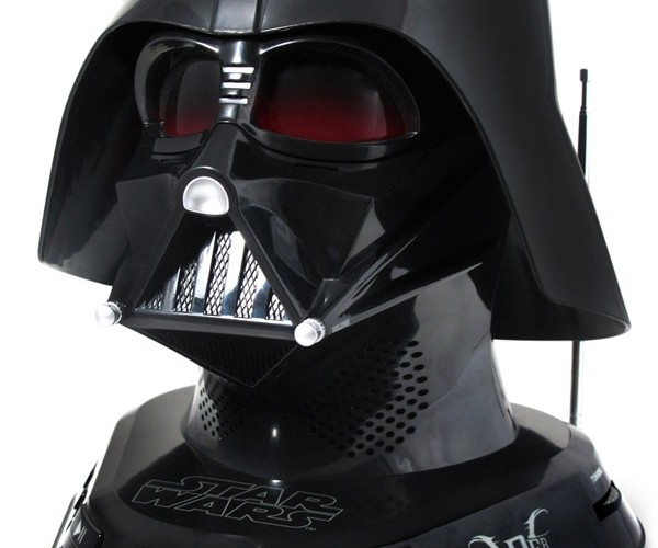 Darth Vader CD Boombox: I Find Your Lack of Built-in MP3 Playback Disturbing