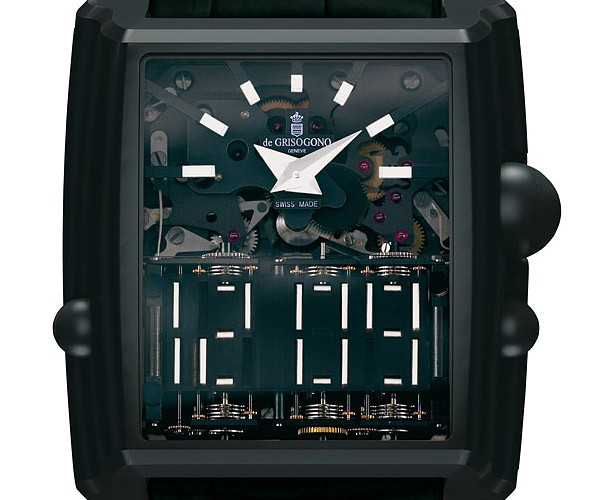De Grisogono's Meccanico dG Watch Has an Analog Face That Simulates Digital
