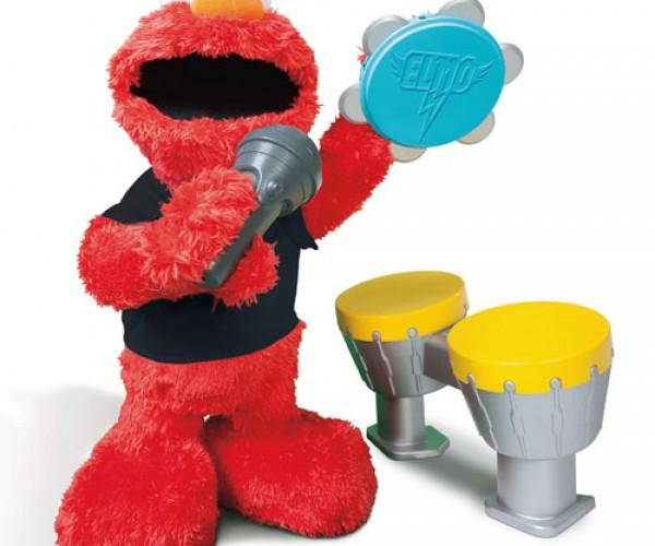 Let's Rock Elmo in Black T is as Emo as Elmo Can Get