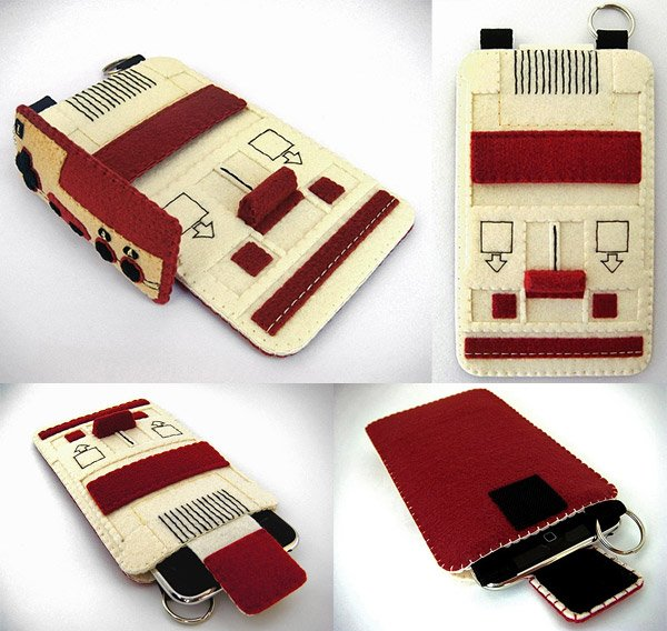 famicom iphone case rabbitrampage