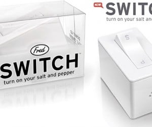 Switch Salt and Pepper Shaker Turns Your Food On