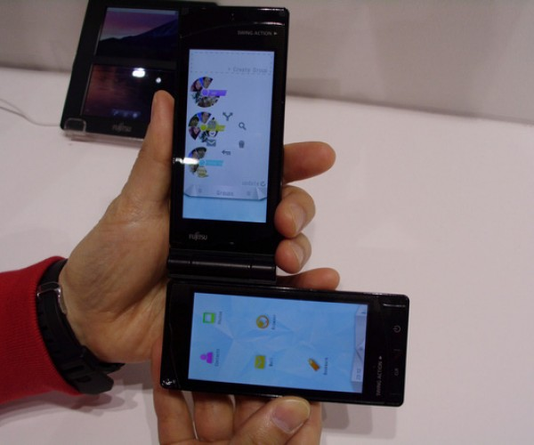 Fujitsu Unveils the World's Second Dual Touchscreen Android Phone