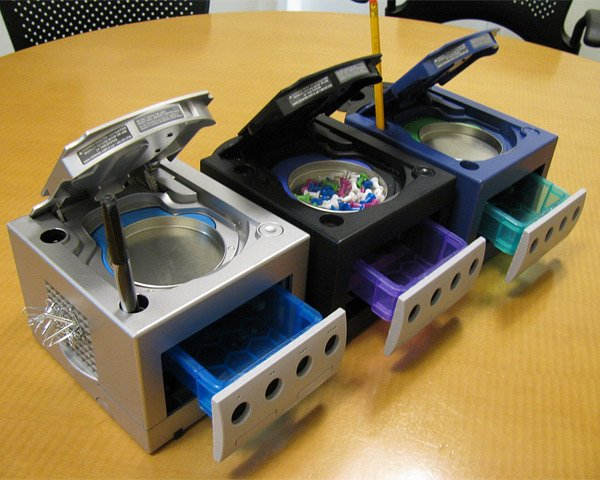 gamecube desktop organizers greencub 1