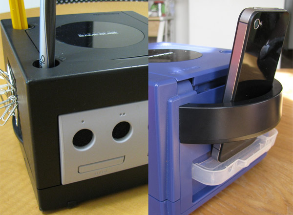 gamecube desktop organizers greencub 4
