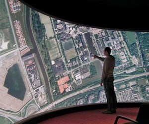 Massive Curved Touchscreen Measures 33-Feet Wide